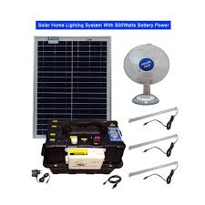 solar dc lighting system solar home lighting system with 500watts battery power 3pcs dc