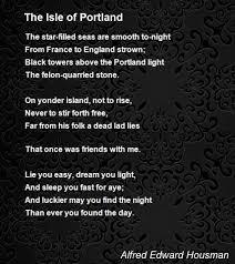 Light The Night Portland The Isle Of Portland Poem By Alfred Edward Housman Poem Hunter