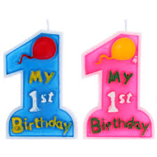 my 1st birthday toothpick cake candle kids first one anniversary