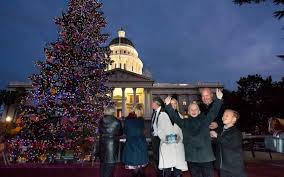 brown cancels capitol christmas tree lighting ceremony the