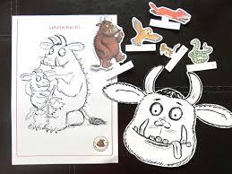 free printable the gruffalo activities kids activities