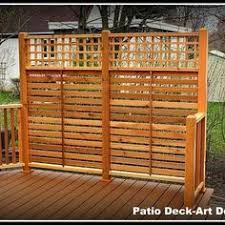 Privacy Screen Ideas For Patios Best 25 Privacy Screen For Deck Ideas On Pinterest Diy Privacy