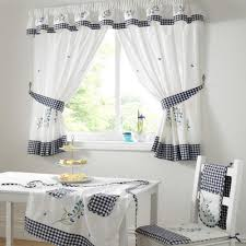 Kitchen Curtains Cool Decorating Interior Window Curtain Designs Ideas Windows