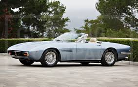 vintage maserati convertible refined maseratis add italian flair to the pebble beach auctions