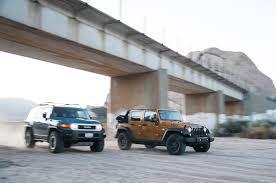 automatic jeep meme 2014 jeep wrangler unlimited vs 2014 toyota fj cruiser motor trend
