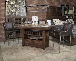 Dining Room Bar Furniture by Starmore Brown Upholstered Barstool 2 Cn Bar Stools