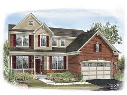 Continental Homes Floor Plans Prescott Floor Plan In Talamore Landmark Series Calatlantic Homes