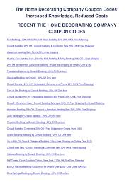 home decorating company coupon code the home decorating company coupon