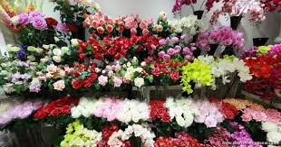 Flowers Wholesale Pink Rose Artificial Flower Wholesale Yiwu China Distribute
