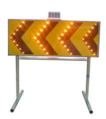 Solar Sign Lights Outdoor by Solar Led Construction Zone Traffic Arrow Sign Board Warning Light