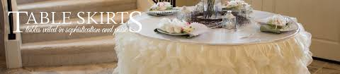 Pleated Table Covers Table Skirts For Weddings Trade Shows Banquets And Other Events