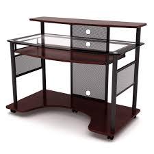 Executive Office Desk Cherry Z Line Designs Home Office Furniture Furniture The Home Depot