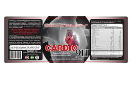 amazon com cardio 911 heart health nitric oxide product health