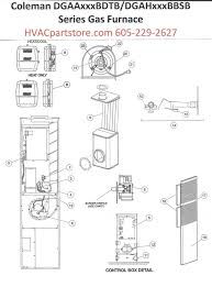 coleman furnace wiring diagram dolgular com