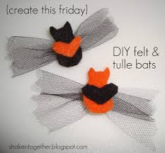 diy felt u0026 tulle bats a simple halloween craft