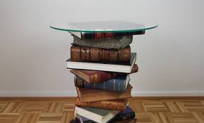 Diy Side Table Diy Side Table Made From Books Tutorial