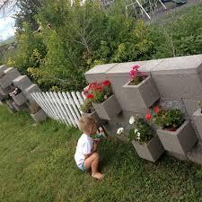 amazing cinder block garden u2014 home design lover