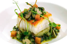 cuisine grenoble sole fillets jersey royals sauce grenoble great chefs