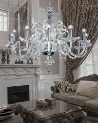 Sphere Chandelier With Crystals Dining Room Chandelier Replacement Crystals Linear