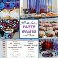 50th birthday party ideas 50th birthday party and ideas party