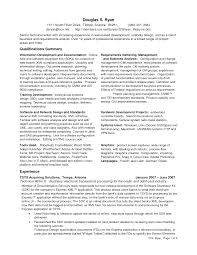 Resume Samples With Summary by Senior Business Analyst Resume Example 6 Computer Systems Analyst