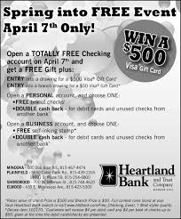 buy e gift cards with checking account morris daily herald business directory coupons restaurants
