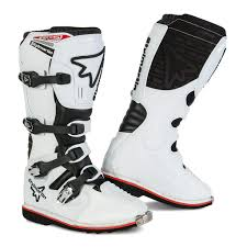 leather dirt bike boots motocross boots in waterproof leather with breathable lining with