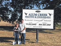 alum creek cground map alum creek heating cooling breaks ground morrow county sentinel
