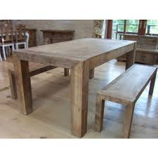 dining table and bench set reclaimed elm table bench set 180cm sustainable furniture