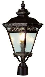 outdoor light post fixtures 55 best fence lighting images on pinterest bronze lanterns and