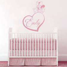 Nursery Name Wall Decals by Online Get Cheap Girls Wall Paper Stickers Personal Name