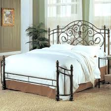 bed frames wrought iron king size headboards solid wrought iron