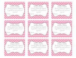 diaper raffle tickets printable thebridgesummit co