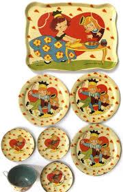 Toy Kitchen Set Food 132 Best Vintage Toy Tea Sets Images On Pinterest Antique Toys