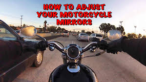 Blind Spot Mirrors For Motorcycles How To Adjust Your Motorcycle Mirrors U2022 Motorcycle Central