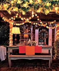 Lighting Ideas For Backyard 4 Creative Outdoor Lighting Ideas Real Simple