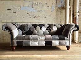 Patchwork Chesterfield - brighton patchwork chesterfield sofa abode sofas