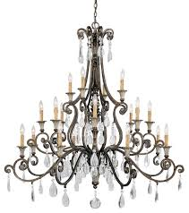 st laurence 20 light chandelier mediterranean chandeliers by