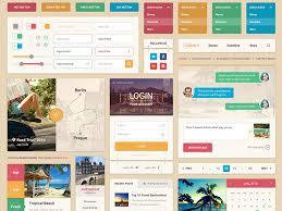 summer ui kit sketch freebie download free resource for sketch