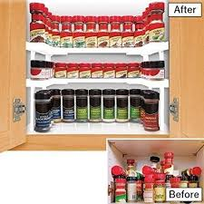 Wall Spice Racks For Kitchen Alfrendant Spicy Shelf Spice Rack And Stackable Organizer Set Of