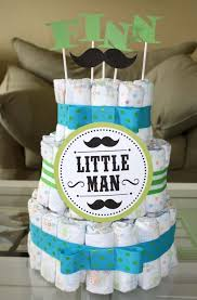 boys baby shower baby boy ideas for baby shower white tiered parcel cake