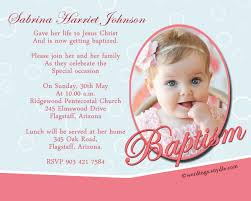 baptism invitation wording sles wordings and messages baptism