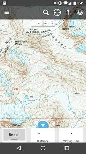How To Read Topographic Maps The Complete Wind River High Route Topographic Maps