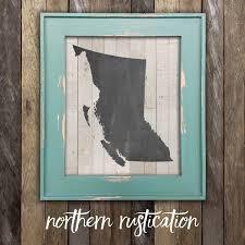 home decor victoria bc british columbia map print vancouver island victoria bc