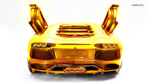 lamborghini custom gold cool lamborghini golden car hd wallpaper jpg 1366 768