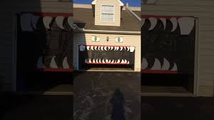 halloween garage door decoration contact me at christine marshall