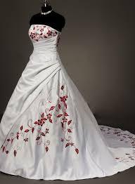brautkleid rot wei weiß rot hochzeitskleid brautkleid ballkleid abendkleid gr 34 36