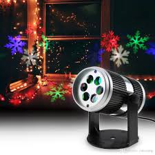 Projector Christmas Lights by 4w 4led Speed Adjustable Sound Activated Moving Dynamic Snowflake
