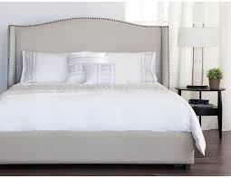 Upholstered Headboard Bed Frame A Neutral Upholstered Headboard For The Bedroom Structube