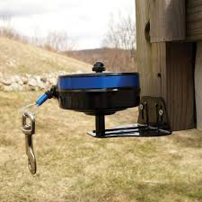 Diy Portable Camp Kitchen by Bracket Mount Retractable Cable Tie Out To Keep Your Dog Secure In